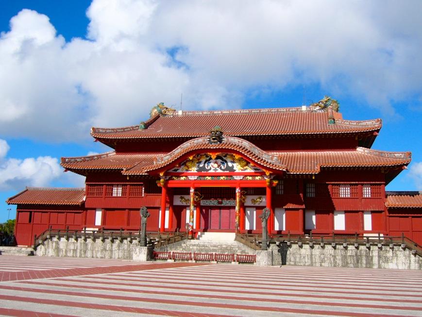 首里城  琉球王国の英華を今に伝える沖縄の世界遺産