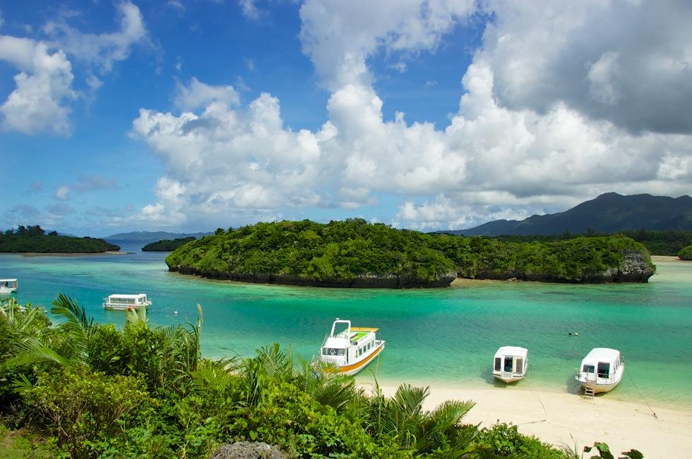 川平湾 石垣島にきたら一度は行きたい観光地