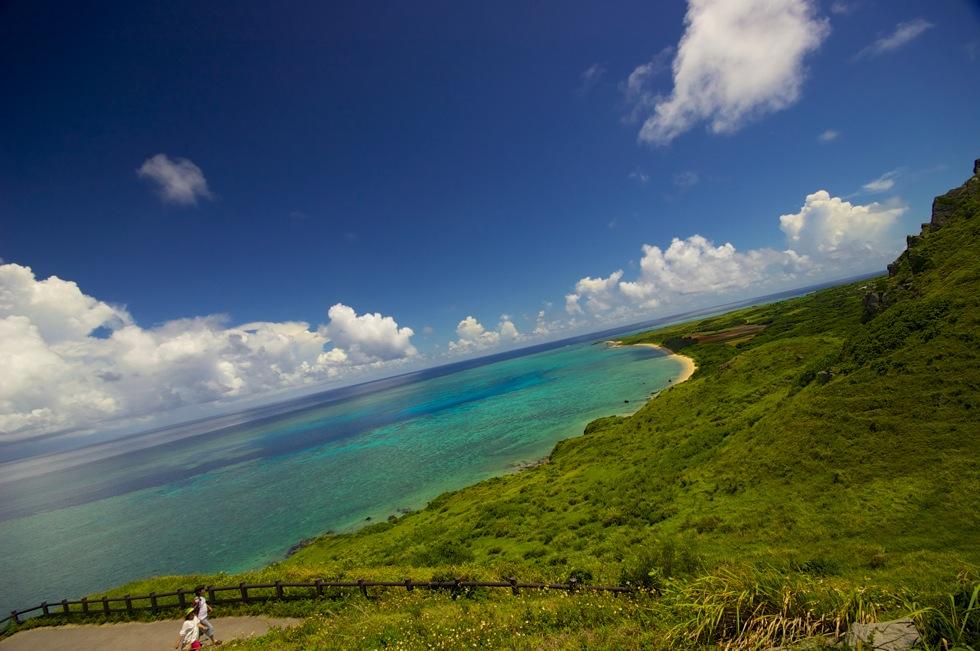 石垣島 平久保崎 コーラルブルーが美しい