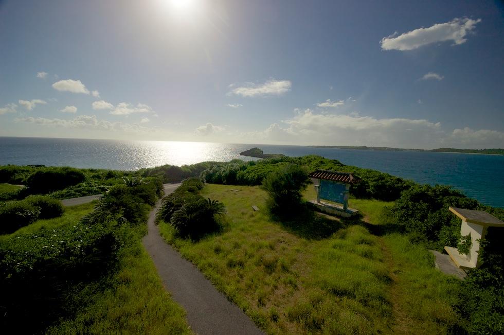 西平安名崎 池間島近くの岬