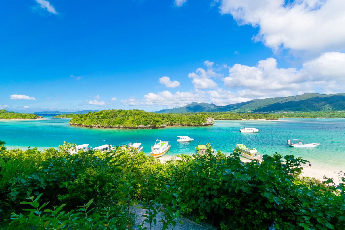 ミシュラン3ツ星!石垣島に来たらまずは行きたい絶景の川平湾。