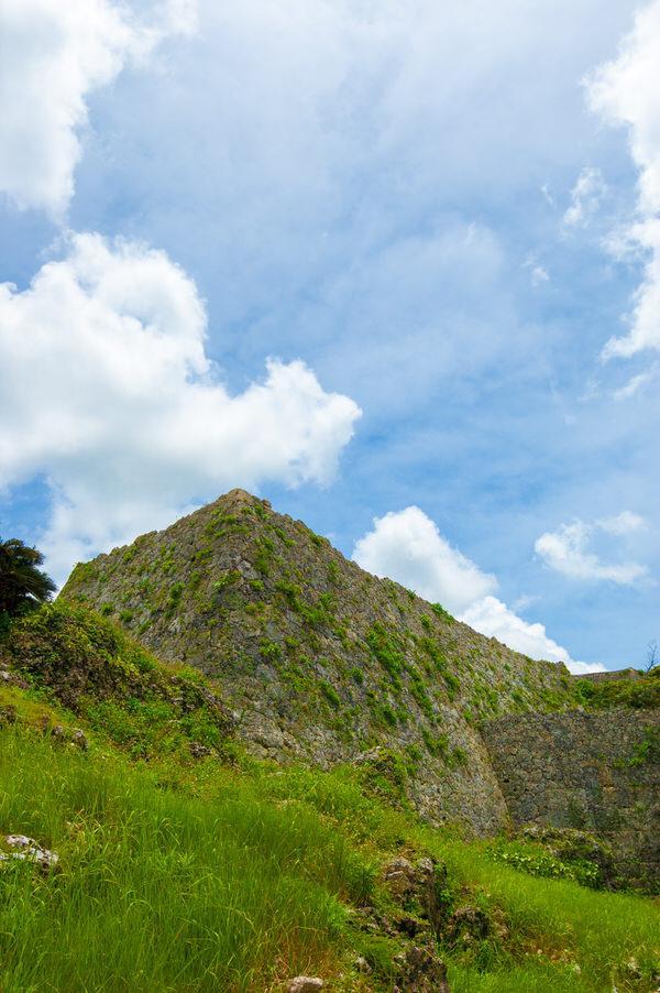 沖縄 中城城跡 城壁