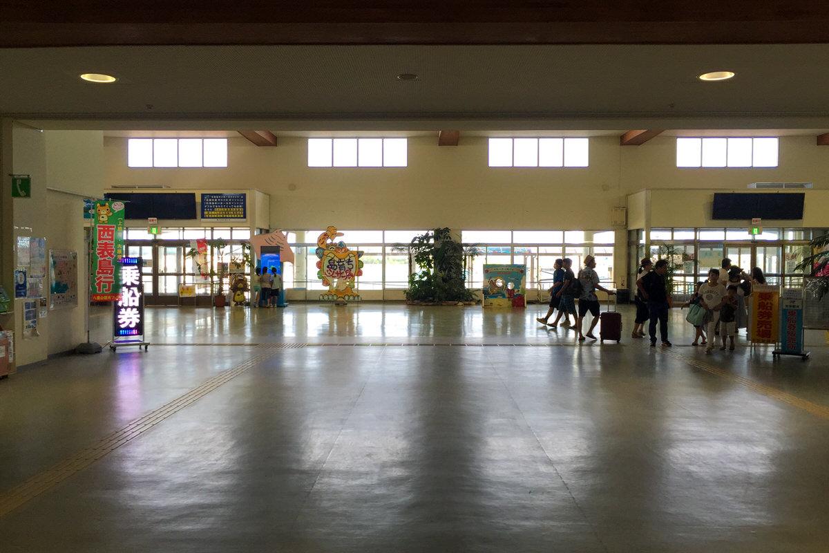 石垣島 離島ターミナルから離島へ行く 竹富島と西表島へ行くときの注意点。
