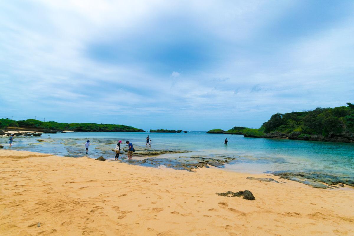 西表島 星砂の浜