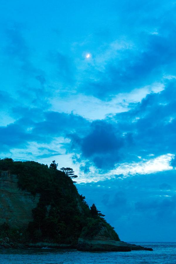 西表島 月ヶ浜 夕暮れ