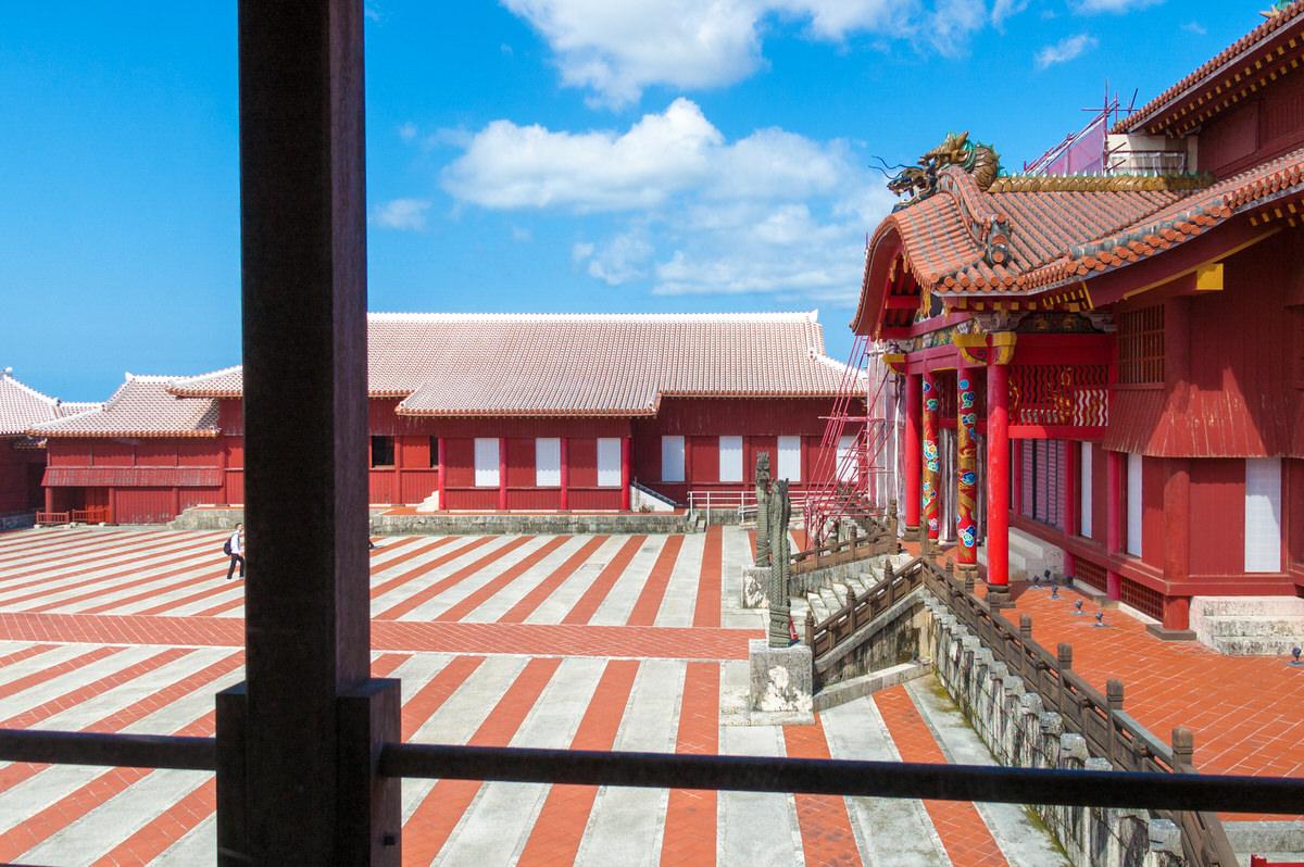 沖縄 世界遺産 首里城 正殿