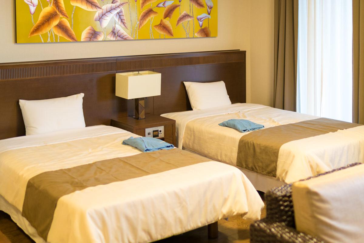 石垣リゾートグランヴィリオホテル ベッドルーム