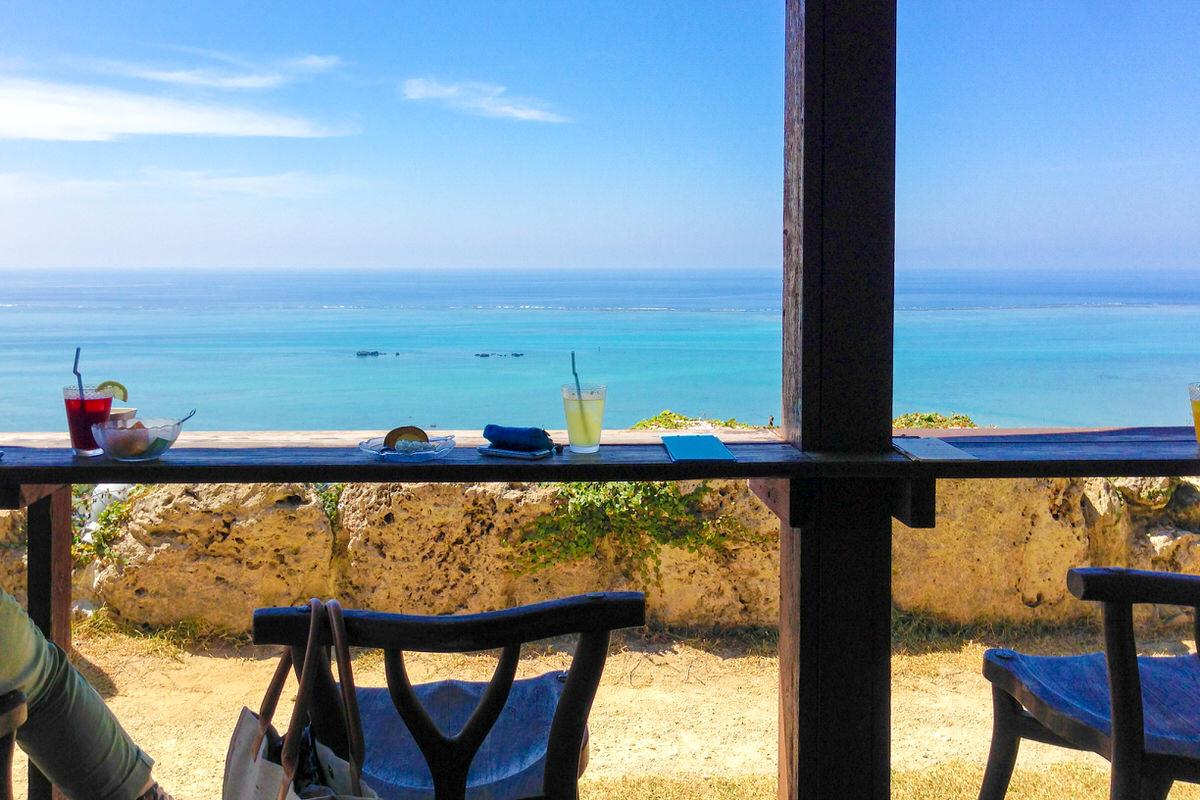 沖縄 海の見えるカフェ くるくま
