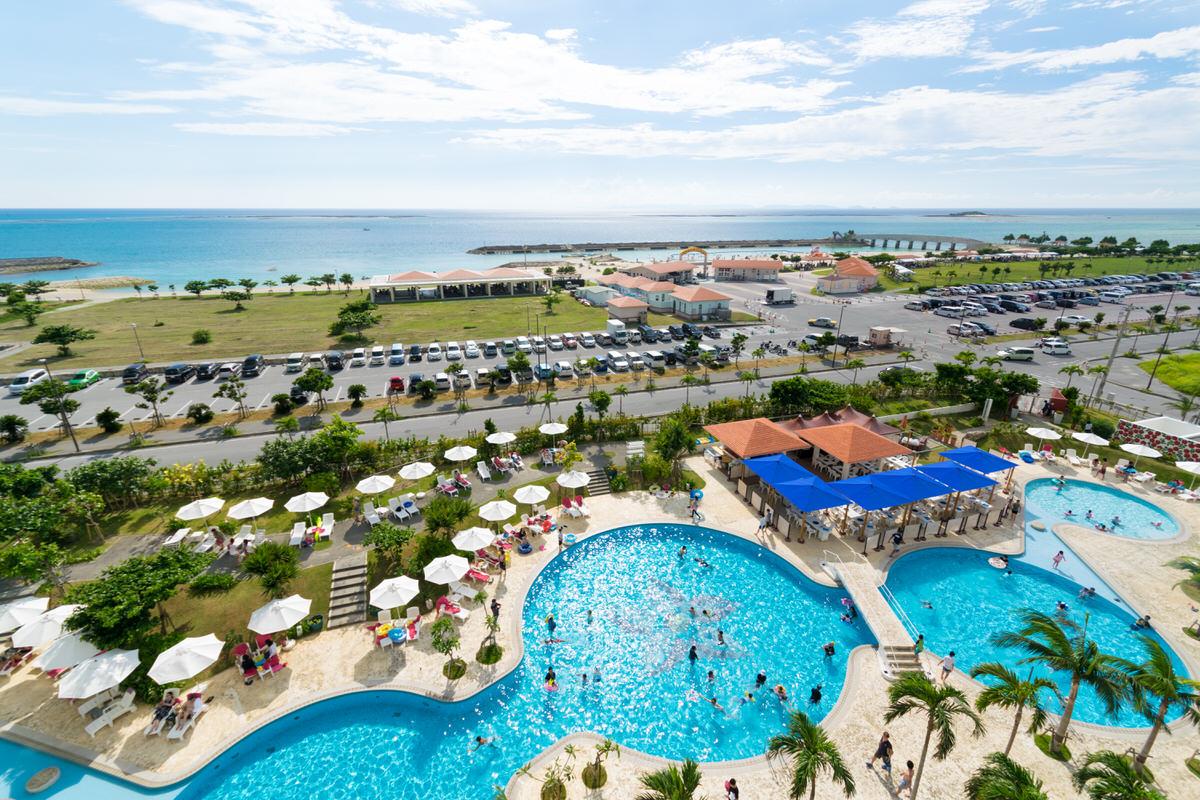 サザンビーチホテル&リゾート沖縄 屋外プール
