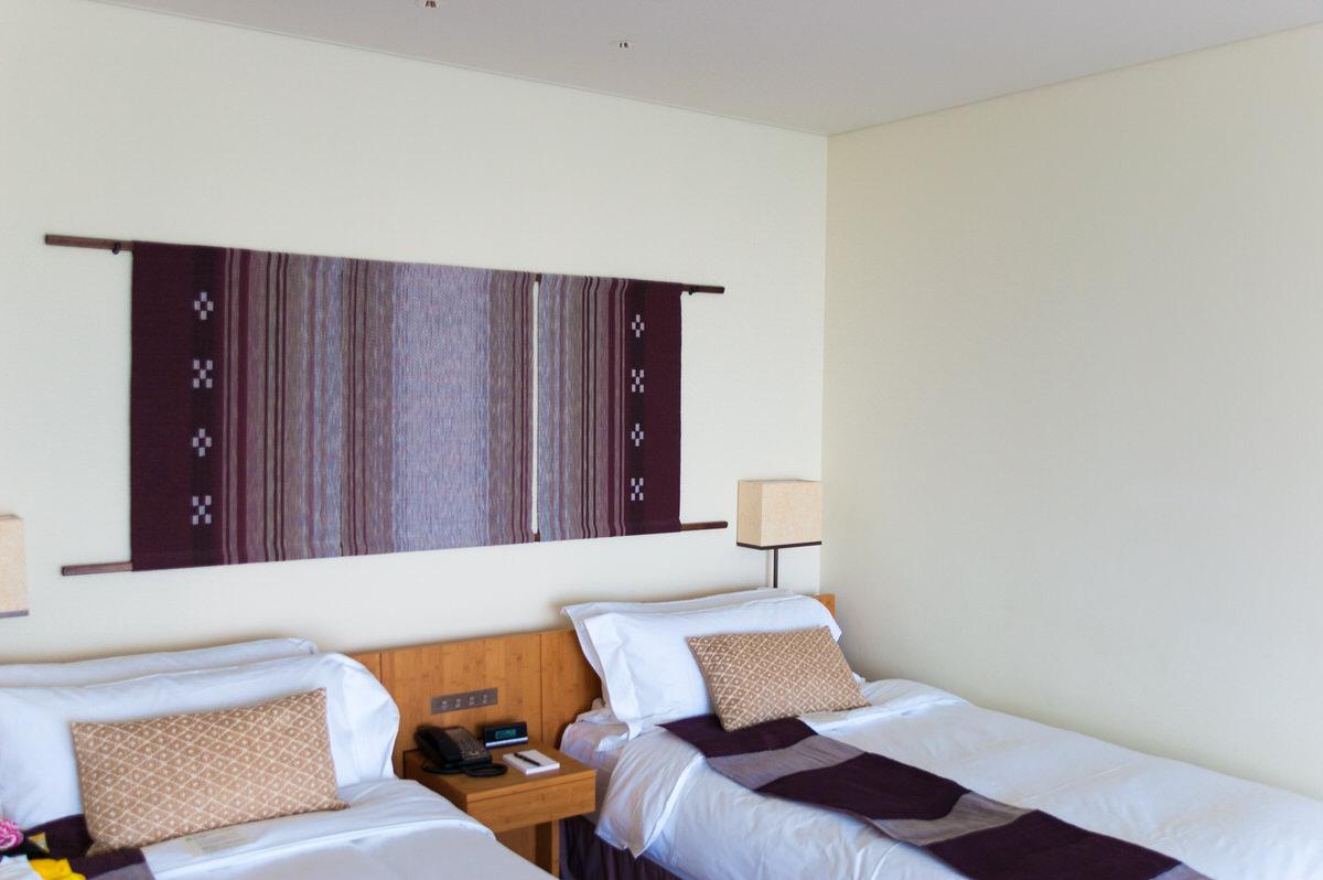 ANAインターコンチネンタル石垣リゾート コーラルウィング ベッド