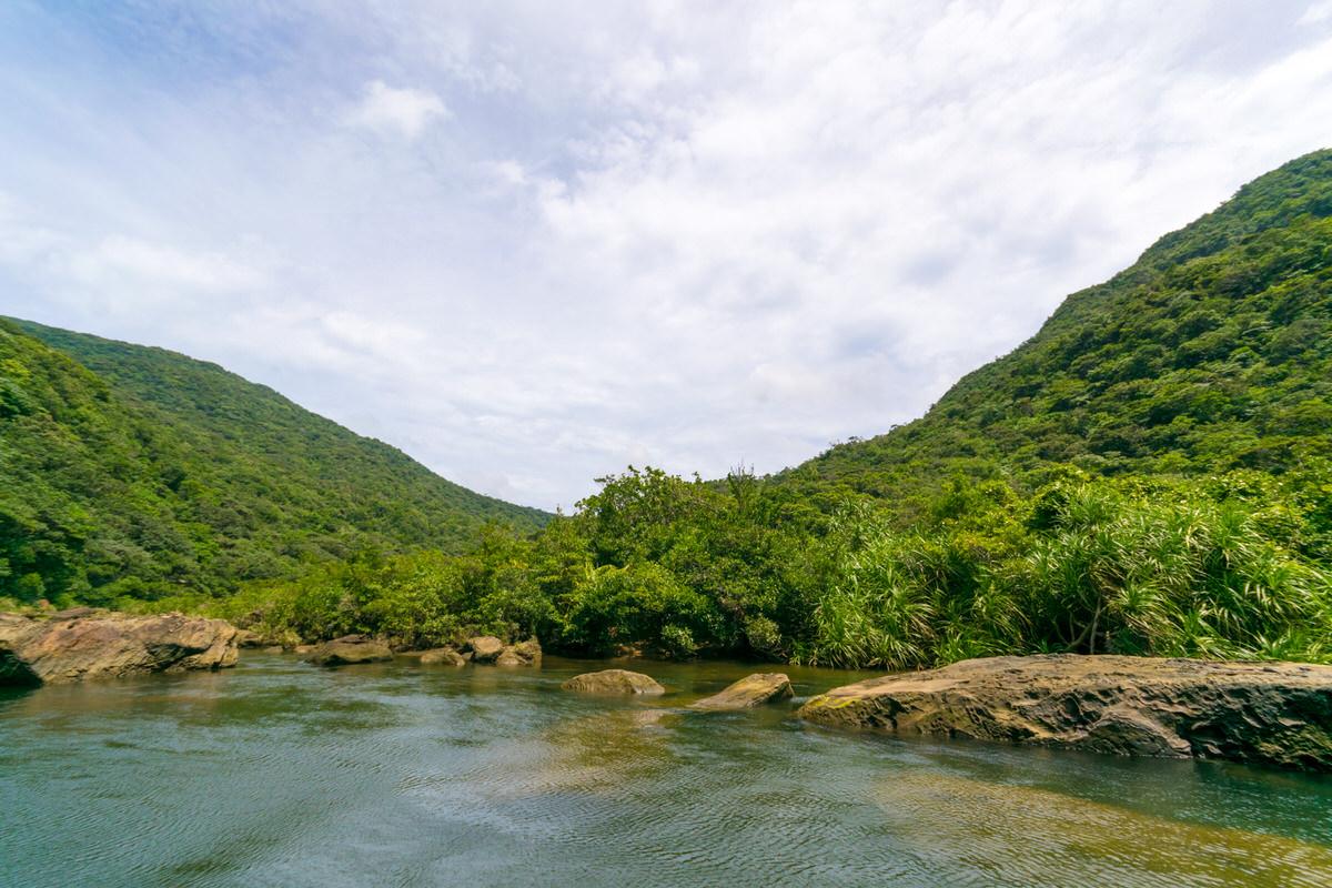 西表最大の川、浦内川のジャングルクルーズを体験!