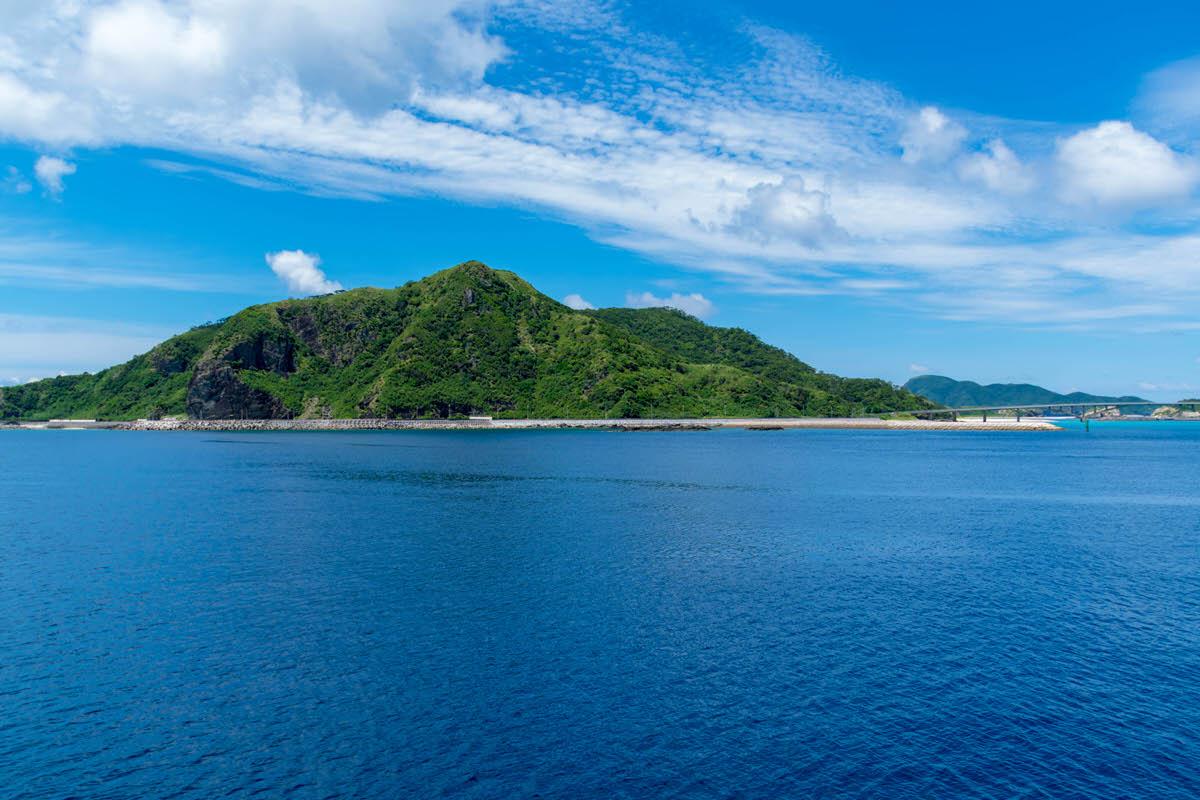 慶良間諸島 慶留間島