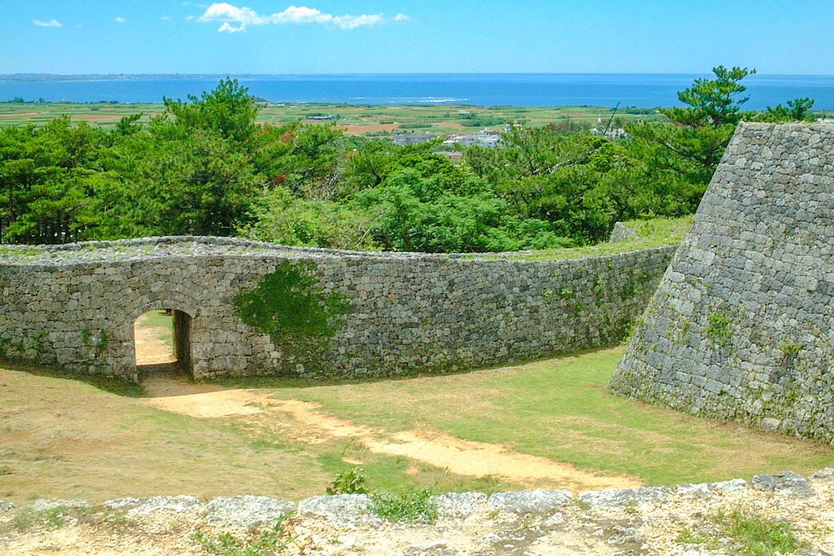 座間味城跡 世界遺産 沖縄本島