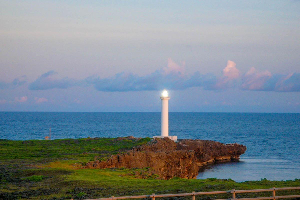 残波岬 沖縄 灯台