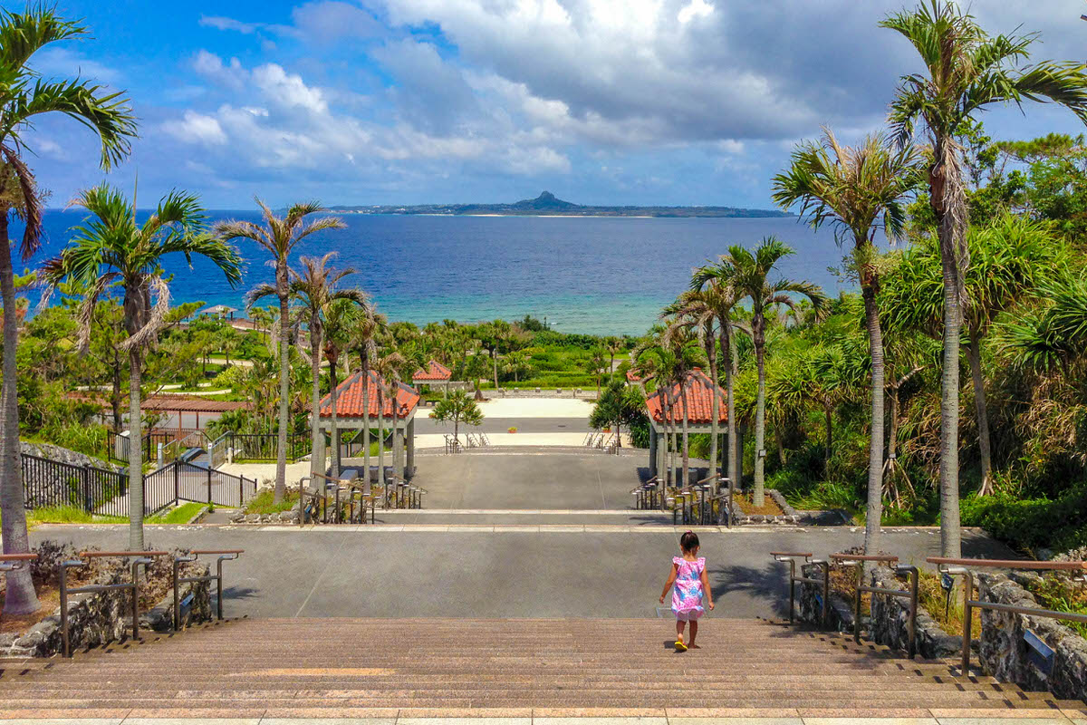 沖縄 美ら海水族館 伊江島