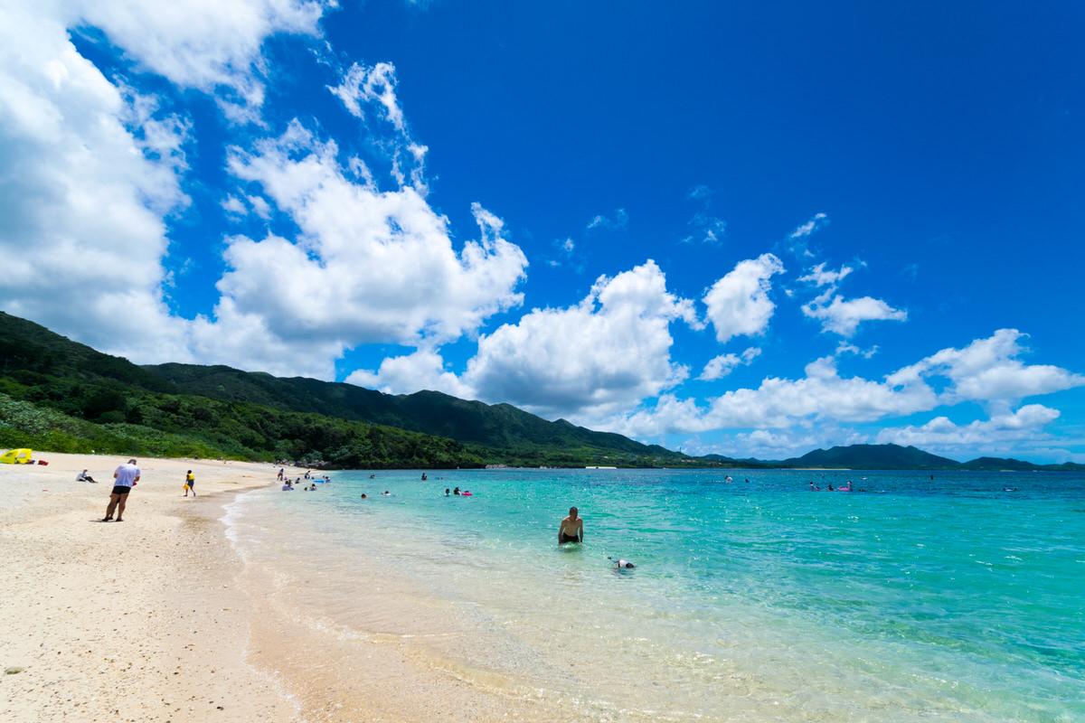 石垣島で1番人気の米原ビーチでシュノーケリング。