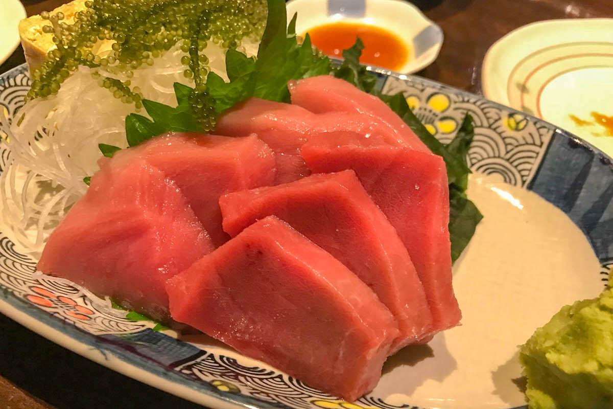 「ひとし石敢當店」絶品!石垣島 本マグロを食べよう!